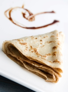 Authentic and delicious french crepe.