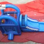 מגלשת מים כולל משטח קפיצה למכירה