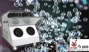 מכונת בועות סבון להשכרה